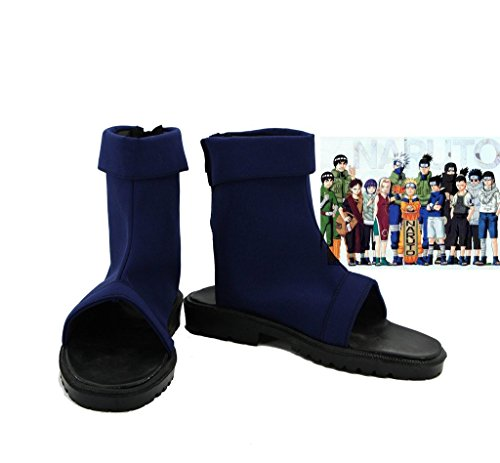 NARUTO Anime Uzumaki Naruto Ninja Cosplay Shoes Cloth Boots Custom Made 2 (Cloth Ninja Shoes compare prices)