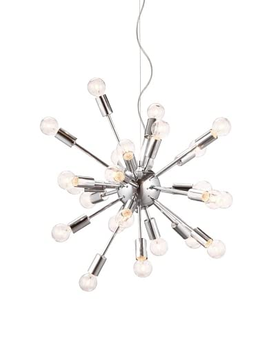 Zuo Pulsar Ceiling Lamp, Chrome