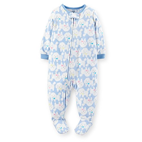 2b6666657134 Carter s Toddler-Girls 1-pc Fleece Footed Sleeper Pajamas (4t ...