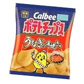 カルビー ポテトチップス うなぎの蒲焼き味 58g 12コ入り