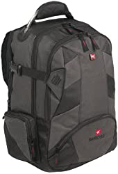 New Black Computer Backpack / Laptop Organizer S-Kross By Swiss Travel Products