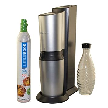 SodaStream Revolution Home Soda Maker Starter Kit, Titan and Silver
