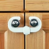 Clippasafe Safety Lock For Wardrobe 2 Units
