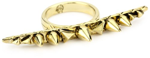 House of Harlow 1960 Gold-Plated Spike and Cone Ring, Size 8