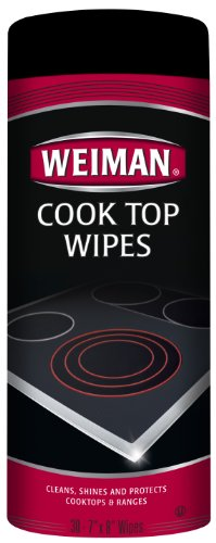 Weiman Cook Top Wipes, 30-Count Jars (Pack of 4)