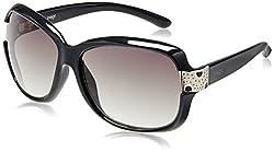 Image Rectangular Sunglasses (Black) (IMS235C1SG)