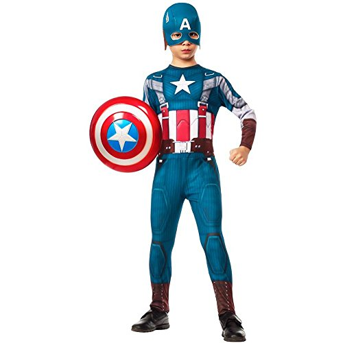 Captain America Retro Kids Costume