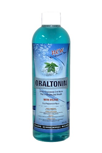 OralTonin (16 floz) Advanced Oral Rinse Formulation that Eliminates Bad Breath