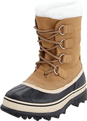 SOREL Women's Caribou Winter Boots 6 BUFF