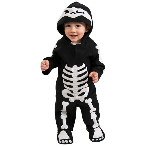 Halloween Skeleton Costume For Baby and Infant Boys Size 6-12 Months