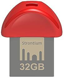 Strontium Nitro Plus Nano 32GB USB 3.0 Pen Drive (Red)