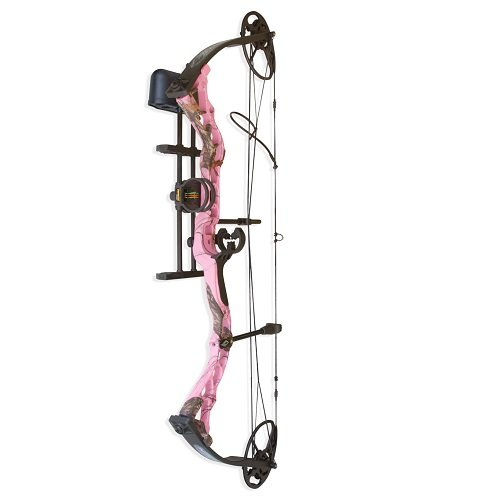 "Diamond by Bowtech Infinite Edge RH 5-70# 13-30"" Mossy Oak Pink Camo with Package"
