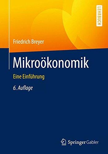 mikrookonomik-springer-lehrbuch