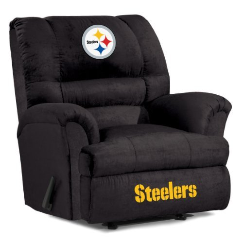 NFL Pittsburgh Steelers Big Daddy Microfiber Recliner