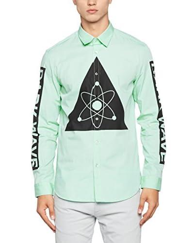 Love Moschino Hemd hellgrün