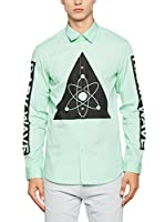 Love Moschino Camisa Hombre (Verde Claro)