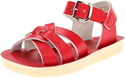 Salt Water Sandals by Hoy Shoe Sun-San Swimmer,Red,8 M US Toddler