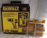 DeWalt DC720KAI 18v Drill/Driver and Impact Kit with DW2162 29pc Bit Kit