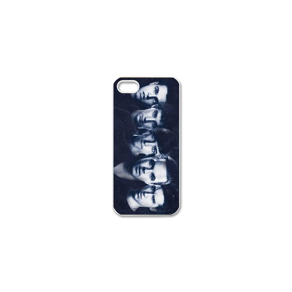 The Janoskians Custom Case for iPhone 5, VICustom iPhone Protective Cover(Black&White)   Retail Packaging