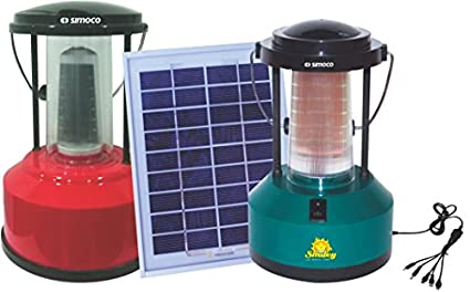 Simoco-3W-Solar-System-(Solar-Panels,-Lanterns)
