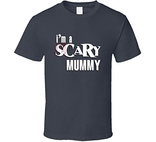 Im a Scary Mummy Funny Lazy Halloween Costume Graphic T Shirt