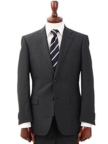 (ザ・スーツカンパニー) クラシック 2つボタンスーツ ピンチェック IZ-01 チャコールグレー