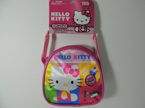 Hello Kitty Purse with 100 Puzzle