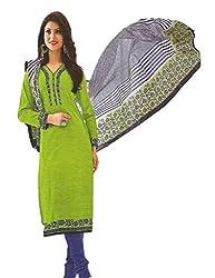 Design Willa Classic Cotton Dress Material (DW078)