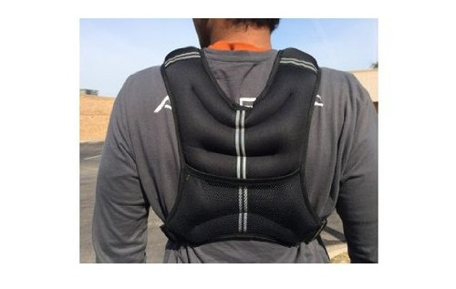 New 20 Lb Exercise Weight Vests Adjustable Weighted Vest For Fitness Workout Vest Training - Onefitwonder