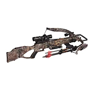Excalibur Matrix 380 Crossbow Package, Realtree Xtra, 260-Pound by Excalibur