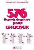 LEMOINE DEMOREST MICHEL - ACCORDS POUR GAUCHER (576) - GUITARE Méthode et pédagogie Guitare Guitare acoustique