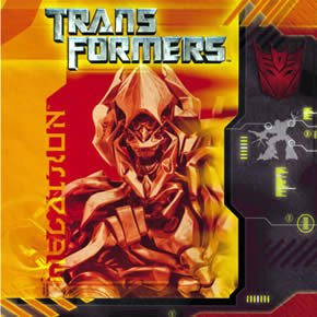Transformers Small Napkins (16ct)