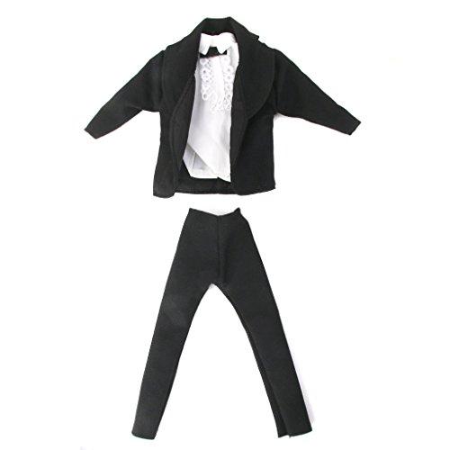 Set 3 Pezzi Vestito Per Ken Principe Bambola Barbie