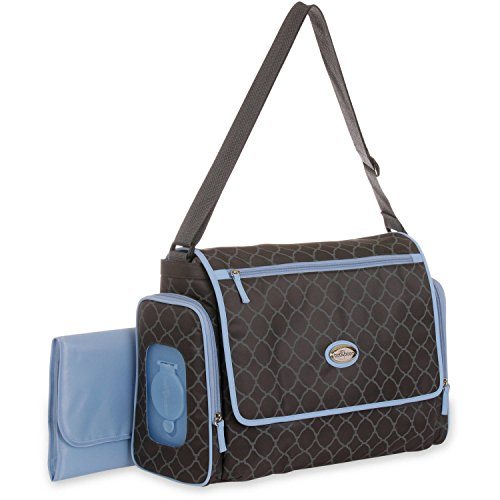 Baby boom places and spaces messenger diaper bag baby product