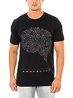 883 Police Camiseta Manga Corta Brain Man (Negro)