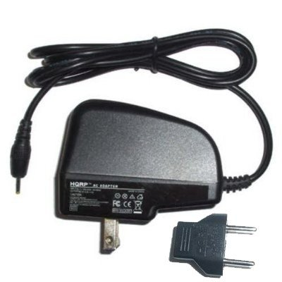 HQRP Wall AC Power Adapter for Canon PowerShot A470 / A480 Digital Camera - (incl. USA Plug & Euro Adapter)