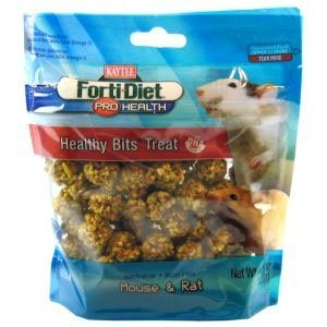Kaytee Pet Products Skt100502983 Forti-Diet Pro Health Mouse And Rat Healthy Bits Treat, 4.75-Ounce