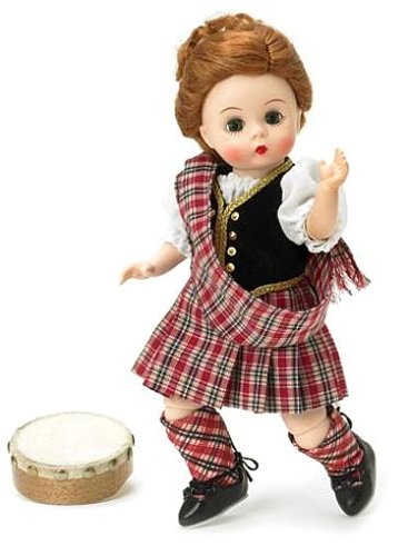 Buy Madame Alexander 8 Inch International Collection Doll – Scottish Lass