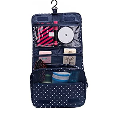 Best Cheap Deal for ColorMixs Hanging Toiletry Cosmetics Travel Bag Cosmetic Carry Case for Woman Man Travel Organization from ColorMixs - Free 2 Day Shipping Available