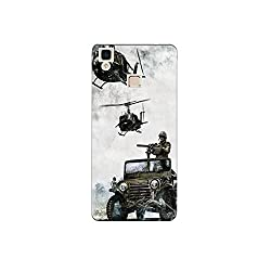 Vivo v3 max nkt09 (4) Mobile Case by oker - Indain Army in Helicopter and Gypsy