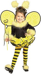 Toddler Bumble Bee Costume Size 2-4T
