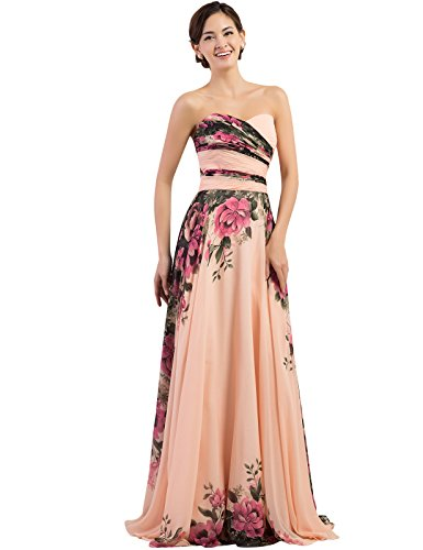 GRACE-KARIN-Floral-Print-Graceful-Chiffon-Prom-Dress-for-Women-Multi-Colored