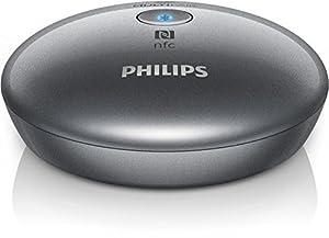 Philips AEA2700/12 Multipair-Empfänger (Bluetooth 3.0, NFC, aptX, mit 3,5mm Klinke) silber