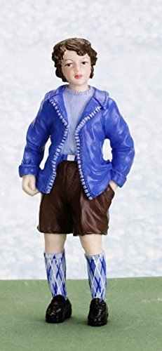 Dollhouse Minatures John Boy in Shorts - 1