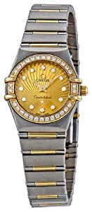 Omega Women's 111.25.23.60.58.001 Constellation Champagne Dial Watch by Omega