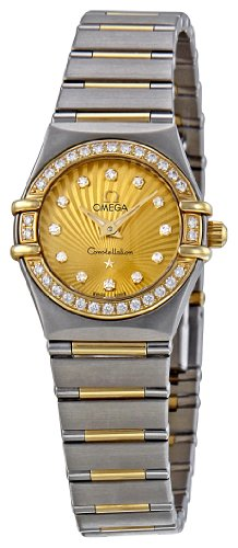 Omega Women's 111.25.23.60.58.001 Constellation Champagne Dial Watch