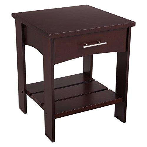 KidKraft Addison Twin Side Table, Espresso (Kids Espresso Nightstand compare prices)