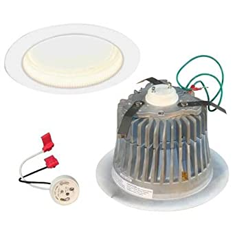 "Cree LR6C-GU24 120V Neutral Color (3500K) GU24 Base 6"" Recessed Downlight"