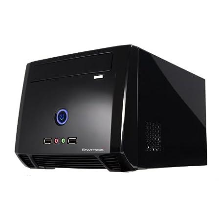 Smartteck ST-A8989BB Boîtier PC avec alimentation 150 W