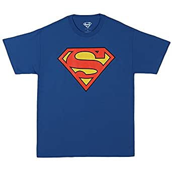 Superman Classic Logo Men's T-shirt